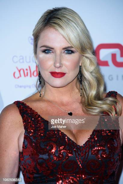 Nancy Sorrell attends the 2018 Float Like A Butterfly Ball at The Grosvenor House Hotel on October 19 2018 in London England