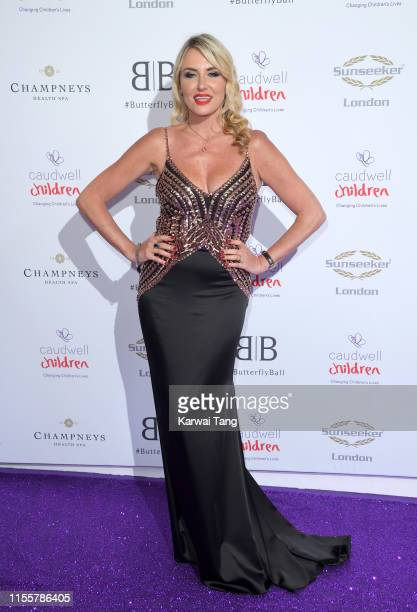 Nancy Sorrell attends the Butterfly Ball 2019 at The Grosvenor House Hotel on June 13 2019 in London England