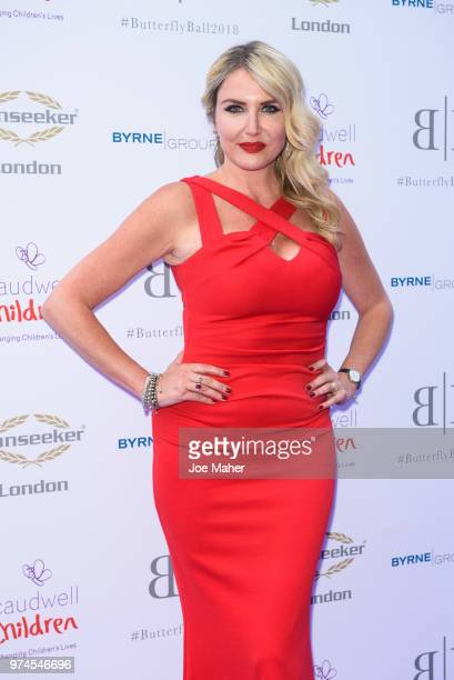 Nancy Sorrell attends The Caudwell Children Butterfly Ball at Grosvenor House on June 14 2018 in London England