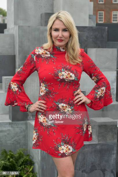 Nancy Sorrell attends the Chelsea Flower Show 2018 on May 21 2018 in London England