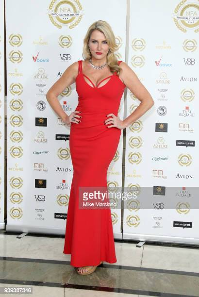 Nancy Sorrell attends the National Film Awards UK at Portchester House on March 28 2018 in London England