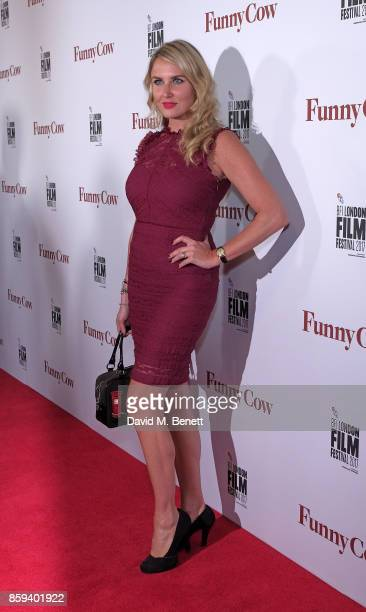Nancy Sorrell attends the World Premiere of Funny Cow during the 61st BFI London Film Festival on October 9 2017 in London England