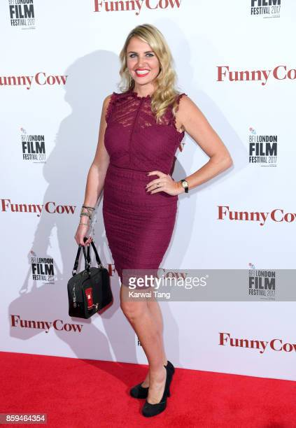 Nancy Sorrell attends the World Premiere of Funny Cow during the 61st BFI London Film Festival at the Vue West End on October 9 2017 in London England