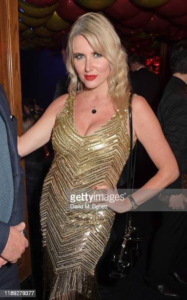 Nancy Sorrell attends Tramp's Christmas Party in celebration of their 50th Anniversary on December 17 2019 in London England
