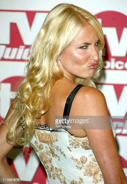 Nancy Sorrell during 2005 TV Quick TV Choice Awards Arrivals at Dorchester Hotel in London Great Britain