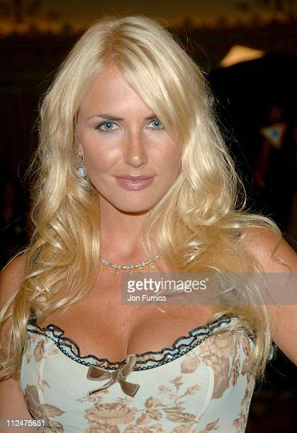 Nancy Sorrell during 2005 TV Quick TV Choice Awards Inside at Dorchester in London Great Britain