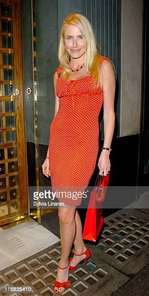 Nancy Sorrell during Jacqueline Gold's A Woman's Courage Book Launch Party at The Ivy in London Great Britain