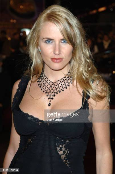Nancy Sorrell during King Kong London Premiere Inside Arrivals at Odeon Leicester Square in London Great Britain