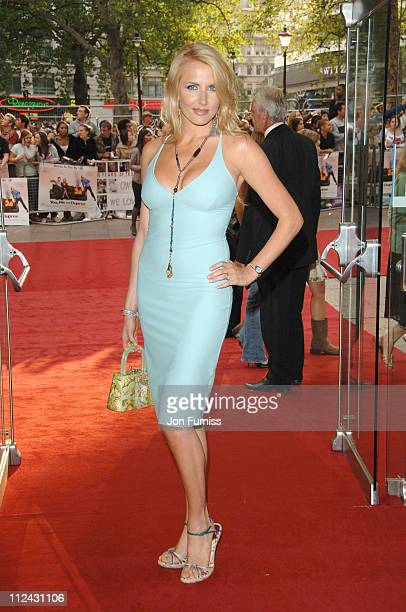Nancy Sorrell during You Me and Dupree UK Charity Premiere Inside Arrivals at Odeon Leicester Square in London Great Britain