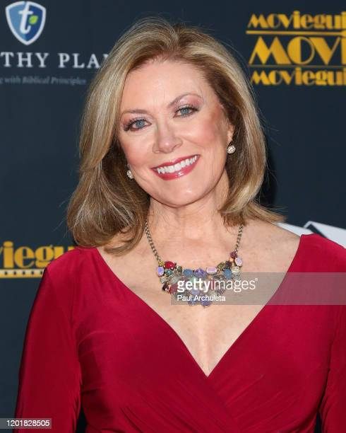 Nancy Stafford attends the 28th Annual Movieguide Awards Gala at Avalon Theater on January 24 2020 in Los Angeles California