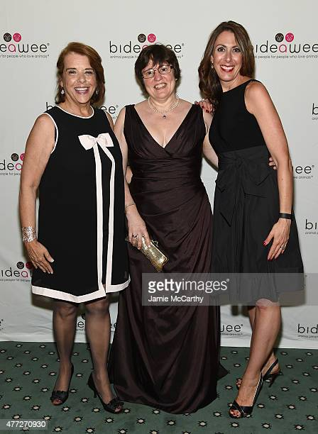 Nancy Taylor Elisabeth McCarthy and Leslie Granger attend the 2015 Bideawee Ball with Former Bachelor Star Prince Lorenzo Borghese on June 15 2015 in...