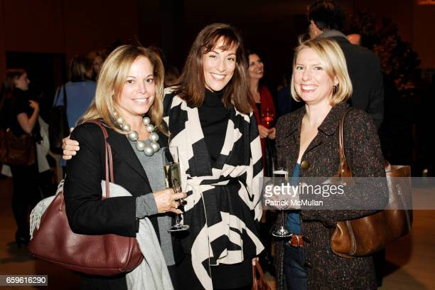 Nancy Thiel Ilene Shaw and Suzanne Gehlert attend ELLE DECOR's 2nd Annual Salute to WOMEN IN DESIGN at The Times Center on October 26 2009 in New York