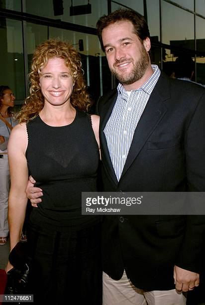 "Nancy Travis and Rob Fried, producer of ""The Man"" during ""The Man"" Los Angeles Premiere - Red Carpet at ArcLight Cinerama Dome in Hollywood,..."