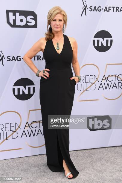 Nancy Travis attends the 25th Annual Screen Actors Guild Awards at The Shrine Auditorium on January 27, 2019 in Los Angeles, California.