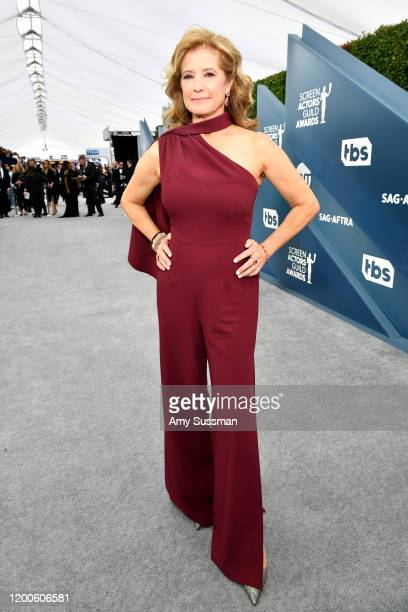 Nancy Travis attends the 26th Annual Screen Actors Guild Awards at The Shrine Auditorium on January 19, 2020 in Los Angeles, California.
