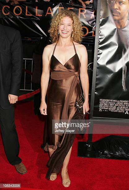 "Nancy Travis during ""Collateral"" Los Angeles Premiere - Arrivals at Orpheum Theatre in Los Angeles, California, United States."
