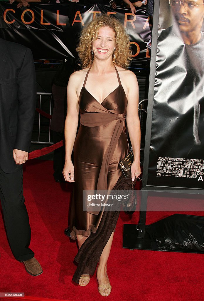 Nancy Travis during u0027Collateralu0027 Los Angeles Premiere Arrivals at Orpheum  Theatre in Los Angeles