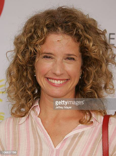 "Nancy Travis during Elizabeth Glaser Pediatric AIDS Foundation 2005 ""A Time For Heroes"" Celebrity Carnival - Arrivals in Los Angeles, California,..."