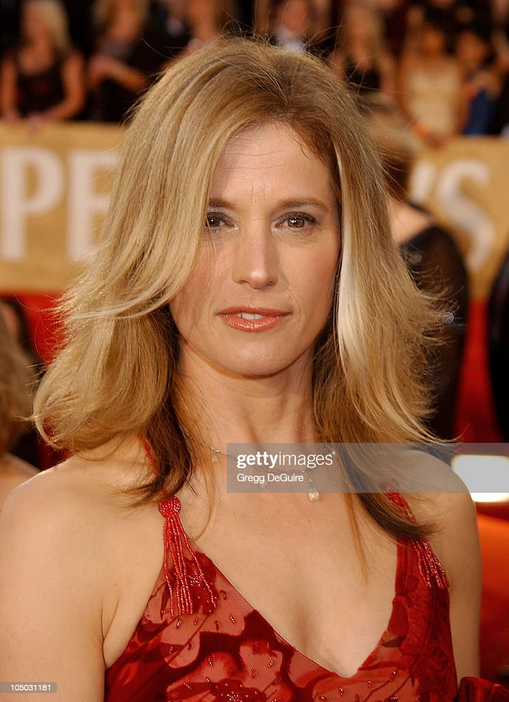 Nancy Travis during The 29th Annual Peopleu0027s Choice Awards Arrivals by  Gregg DeGuire at Pasadena Civic
