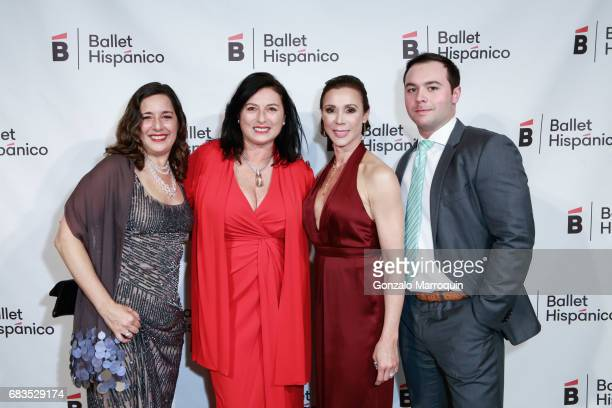 Nancy Turano Barbara Carocci Kathryn RossNash and Zack Ross attend the Ballet Hispanico Celebrates TrailBlazing Latina Leaders Rita Moreno and Nina...