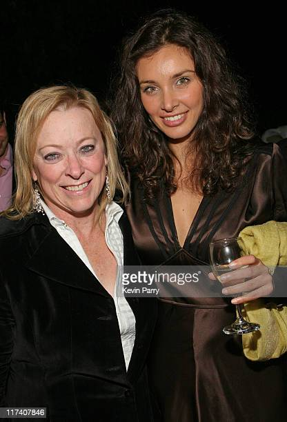 Nancy Utley Fox Searchlight Pictures Chief Operating Officer and Lisa Ray