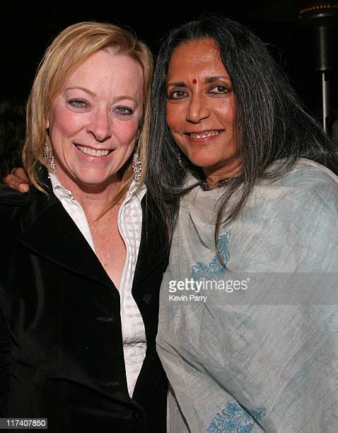 Nancy Utley Fox Searchlight Pictures Chief Operating Officer and Deepa Mehta