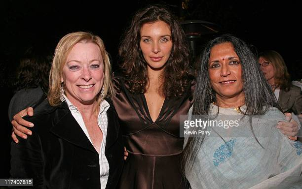 Nancy Utley Fox Searchlight Pictures Chief Operating Officer Lisa Ray and Deepa Mehta