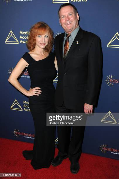 Nancy Weintraub and Mark Whitley attend the 40th Annual Media Access Awards In Partnership With Easterseals at The Beverly Hilton Hotel on November...