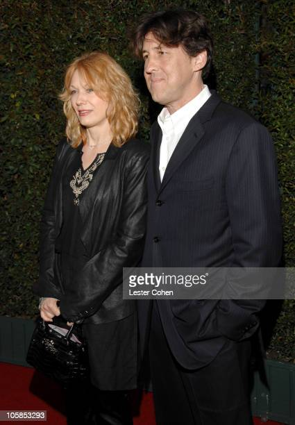 Nancy Wilson and Cameron Crowe during Mentor LA's Promise Gala Honoring Tom Cruise Red Carpet at 20th Century Fox Studios in Los Angeles California...