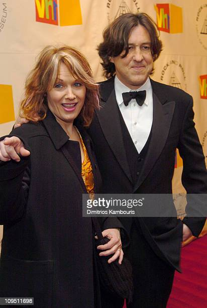 Nancy Wilson and Cameron Crowe during The 19th Annual Rock and Roll Hall of Fame Induction Ceremony Arrivals at Waldorf Astoria in New York City New...
