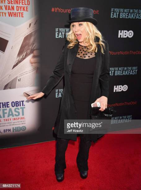 Nancy Wilson at the LA Premiere of If You're Not In The Obit Eat Breakfast from HBO Documentaries on May 17 2017 in Beverly Hills California