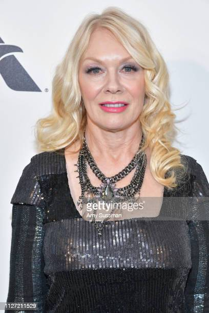 Nancy Wilson attends the 27th annual Elton John AIDS Foundation Academy Awards Viewing Party celebrating EJAF and the 91st Academy Awards on February...