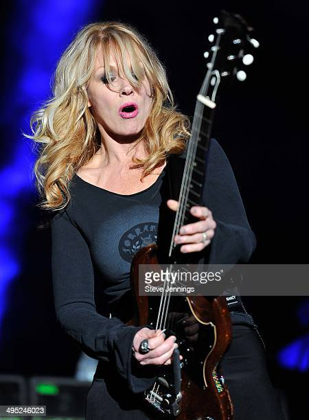Nancy Wilson of Heart performs on Day 2 of BottleRock Napa Valley Music Festival at Napa Valley Expo on May 31 2014 in Napa California