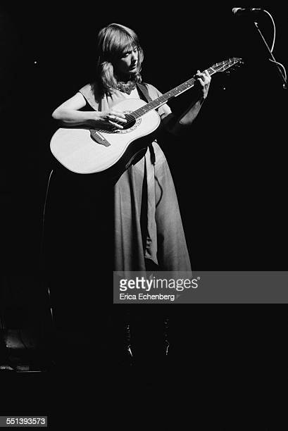 Nancy Wilson of Heart performs on stage at New Victoria Theatre London United Kingdom December 1976