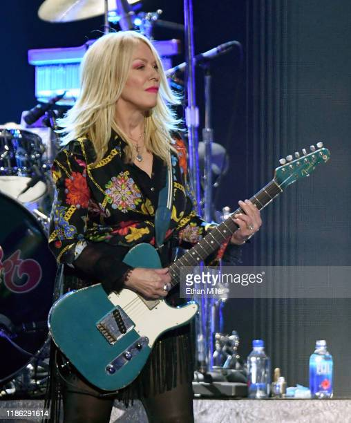 Nancy Wilson of Heart performs onstage during the 2019 iHeartRadio Music Festival at T-Mobile Arena on September 20, 2019 in Las Vegas, Nevada.