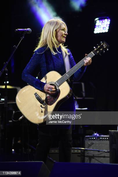 Nancy Wilson of Heart performs onstage during the Third Annual Love Rocks NYC Benefit Concert for God's Love We Deliver on March 07, 2019 in New York...