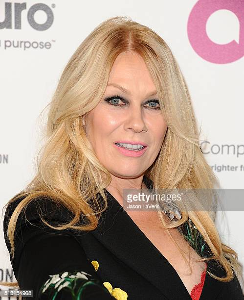 Nancy Wilson of the band Heart attends the 24th annual Elton John AIDS Foundation's Oscar viewing party on February 28, 2016 in West Hollywood,...