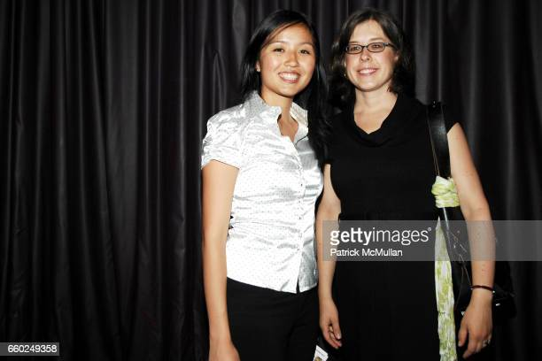 Nancy Zhao and Rose Cob attend LITERACY ASSOCIATES benefit for Literacy Partners at Tenjune on June 2 2009 in New York City