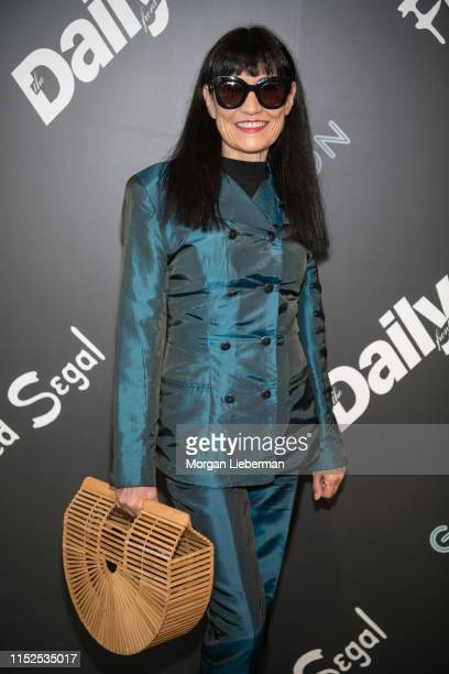 Nancye Ferguson arrives at the launch event of Global Intuition Collection at Fred Segal on May 29, 2019 in Los Angeles, California.