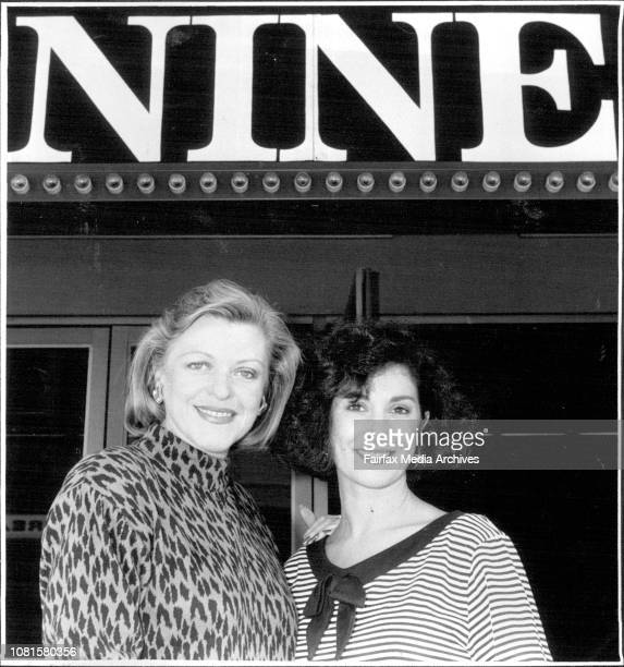 Nancye Hayes amp Peta Toppano are off to Broadway with 9 April 13 1984