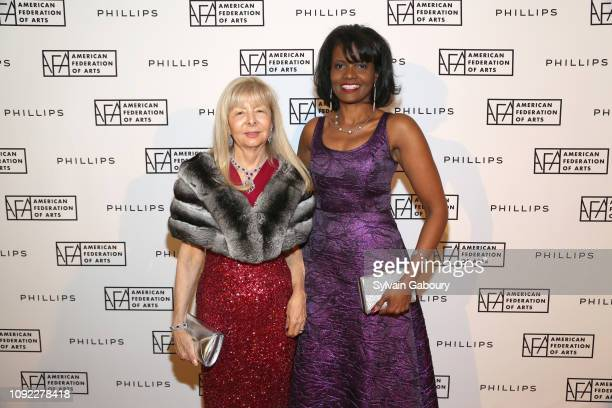 NancyJane Loewy and Pauline Willis attend American Federation Of Arts 2018 Gala at Guastavino's on November 8 2018 in New York City