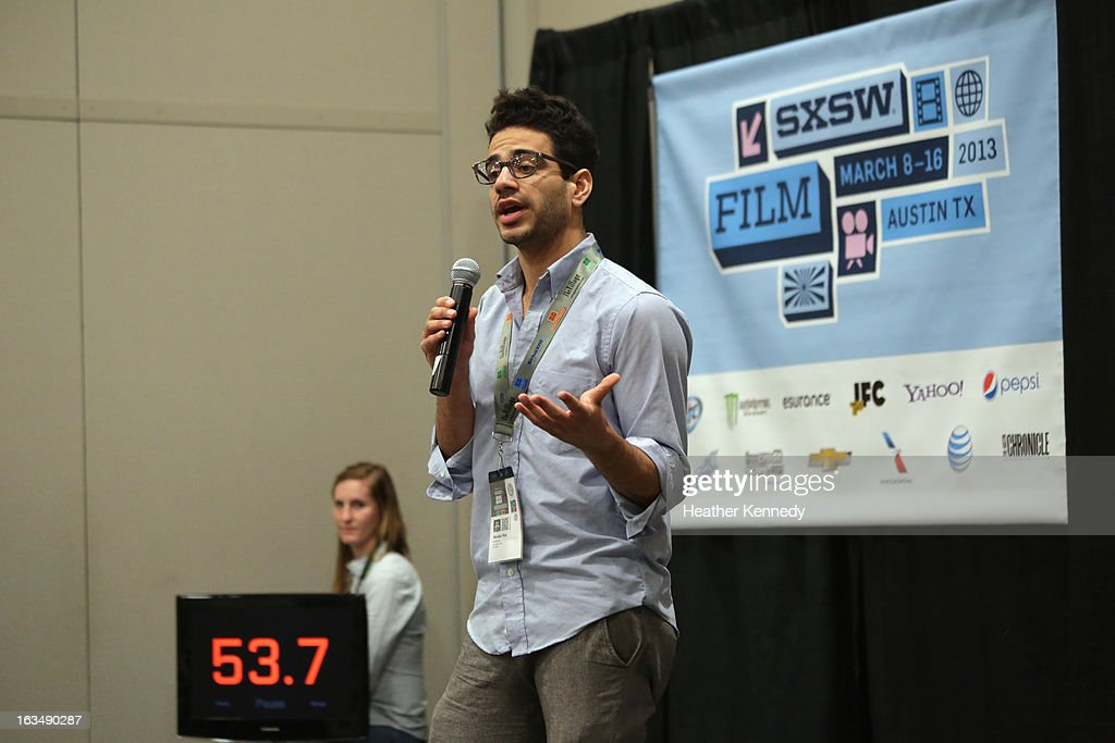 Nandan Rao speaks onstage at Startup Alley: Fastball Speed Pitches during the 2013 SXSW Music, Film + Interactive Festival at Austin Convention Center on March 10, 2013 in Austin, Texas.