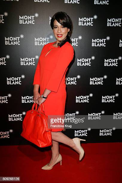 Nandini Mitra attends the Montblanc House Opening on February 09, 2016 in Hamburg, Germany.