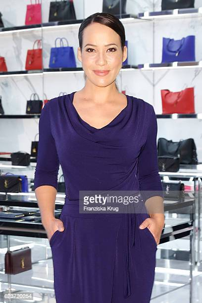 Nandini Mitra attends the new Luxury Hall Opening of the Alsterhaus on November 16 2016 in Hamburg Germany