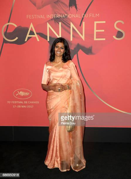 Nandita Das attends the Mantha Buyers Evening at The 70th Cannes Film Festival at Majestic Barierre on May 22 2017 in Cannes France