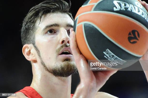 Nando de Colo #1 guard of CSKA Moscow during the 2017/2018 Turkish Airlines Euroleague Regular Season Round 2 game between Real Madrid and CSKA...
