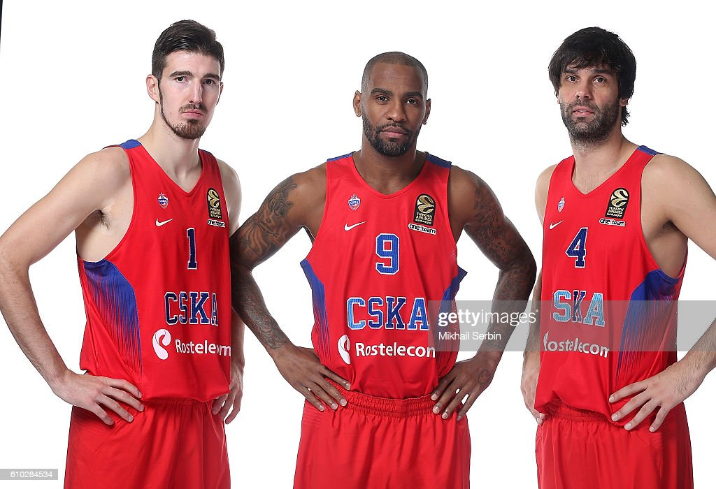 CSKA Moscow 2016/2017 Turkish Airlines EuroLeague Media Day : News Photo
