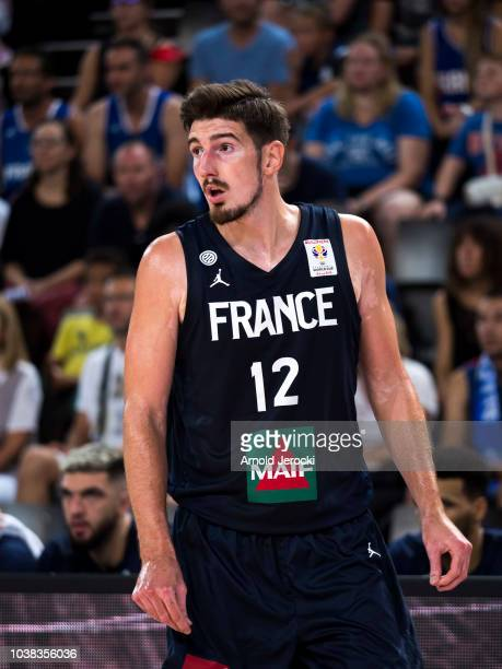 Nando De Colo from France in action during the FIBA Basketball Wolrd cup 2019 qualifier match between France and Finland at the Sud de France Arena...