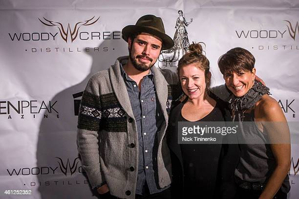 Nando Guitierrez Ashley Feddersen and LoriAnne Henry attend as Aspen Peak celebrated Aspen Film's 23rd Annual Academy Screenings with a doubleheader...