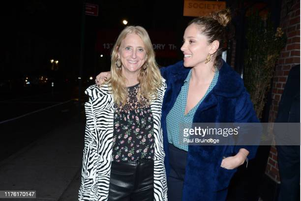 """Nanette Lepore and Margarita Levieva attend Cohen Media Group And The Cinema Society Host The After Party For """"Serendipity"""" at Society Cafe at Walker..."""